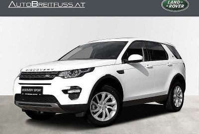 Land Rover Discovery Sport 2,0 TD4 150 4WD SE bei fahrzeuge.breitfuss.landrover-vertragspartner.at in