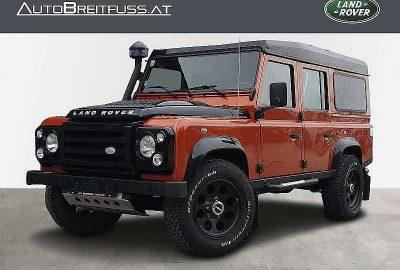 Land Rover Defender 110″ SW 2,4 TD4 Fire & Ice 2-Sitzer bei fahrzeuge.breitfuss.landrover-vertragspartner.at in